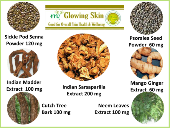 Herbal Skincare Supplement - My Glowing Skin