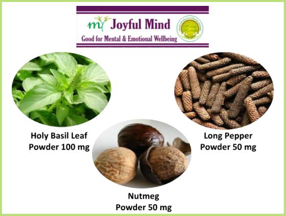 Supportive Herbs in My Joyful Mind
